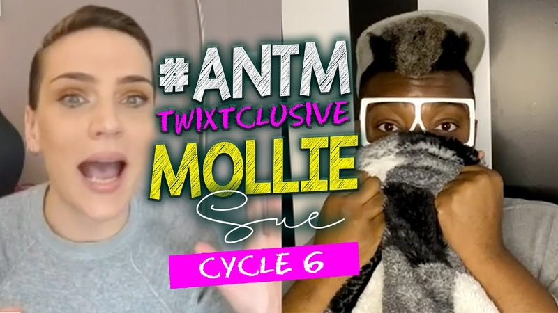 EPIC ANTM Mollie Sue Cycle 6 LIVE CRAZY Stories on Tyra Banks Nigel Barker CariDee McKey More