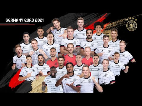 GERMANY EURO 2020 SQUAD THE OFFICIAL 26 MAN TEAM