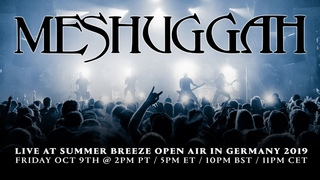 Meshuggah - Live at Summer Breeze Open Air in Germany 2019
