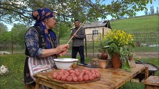 The Best Homemade Pasta With Meatballs, Kftli Makaron, Outdoor Cooking