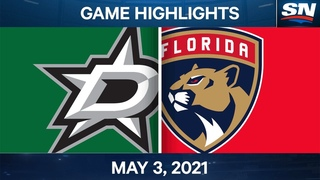 NHL Game Highlights   Stars vs. Panthers – May 3, 2021