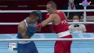 BOXING: Poland vs ROC    Damian DURKACZ vs Gabil MAMEDOV    Olympics Tokyo 2020