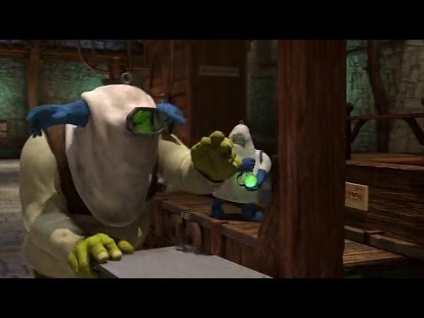 Средство жить долго и счастливо Шрек и его друзья обкрадываеют комнату феи Шрек2 2004