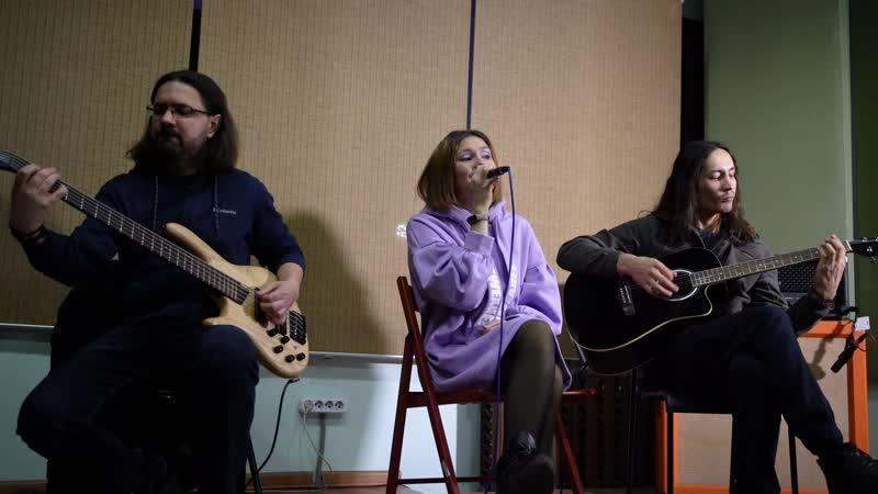 Delirium Inspiration Grenade Rehearsal acoustic live sound