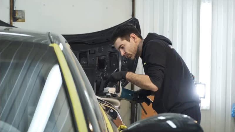 Детейлинг полировка автомобилей в Витебске в студии VAnder auto