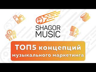 Выпуск №9. Эффективные концепции музыкального маркетинга. Разбор обучающего видео.