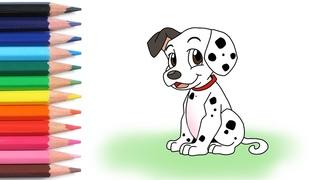 Алфавит для детей учим буквы весело мультики раскраска как нарисовать щенка азбука простые слова