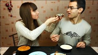 """Заказали доставку узбекской кухни из кафе """"Лайлак"""": показываем, что привезли (необычная для нас еда)"""