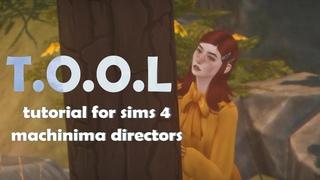 Sims 4 . tutorial for machinima directors