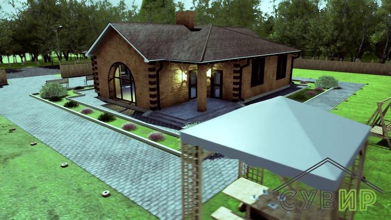Проект дома АДОНИС Строительная компания СУВИР