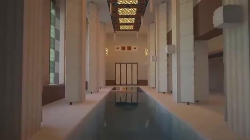 В Minecraft построили копию дворца Путина