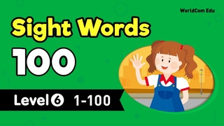 Learn English through Sight Words 100 | LEVEL 6 Full | English for Kids with Brian Stuart | 단어 공부