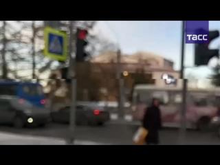 Взрыв у здания ФСБ в Архангельске