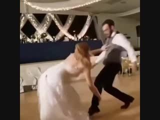Новый уровень свадебного танца