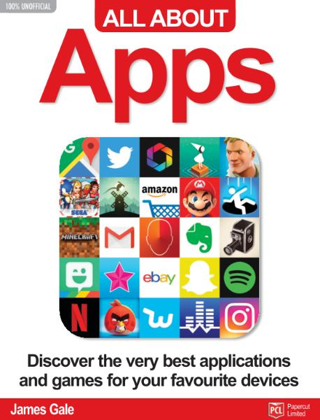 Book cover All About Apps 2019