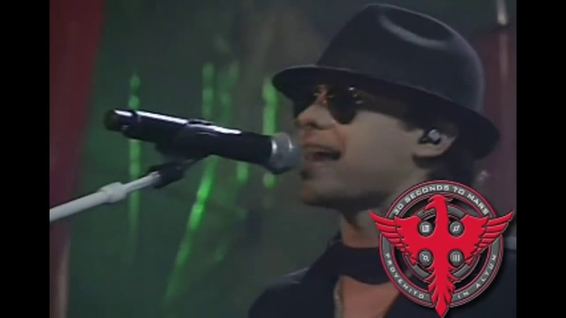 30 Seconds To Mars From Yesterday ft Ely Guerra Live MTV Latin Awards 2007 HD