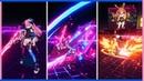 Honkai v4.3 - Roza Augment and Tesla Zero ELF Gameplay GIFs (Fanatical Blues Delta)