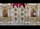 Вечернее богослужение. Иконы Божией Матери «Троеручица»