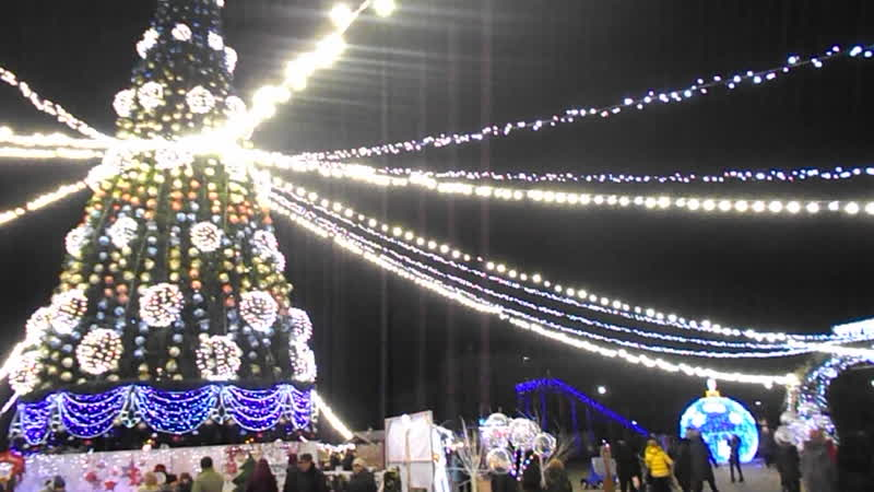 Кременчук. Новорічні канікули 2020
