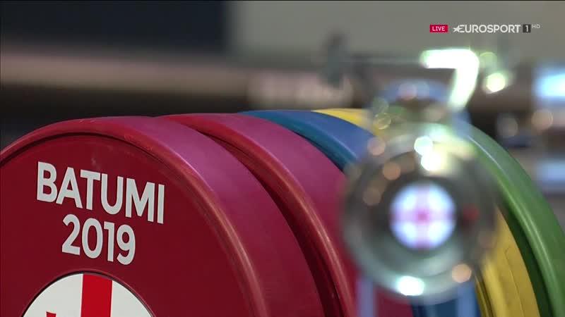 Weight_Lifting_Europe Championship _2019 Men 67kg