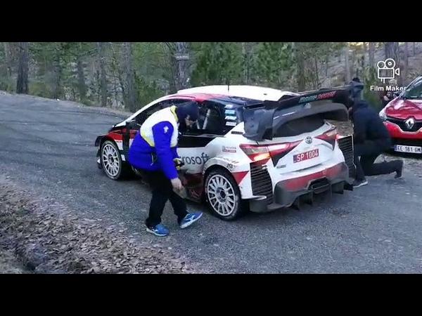 Тесты Toyota и Себастьена Ожье перед ралли Монте-Карло 2020