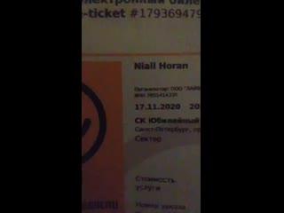 Niall Horan concert 2020