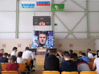 встреча с чемпионом мира по плаванию Юрием Прилуковым в Красноуфимске