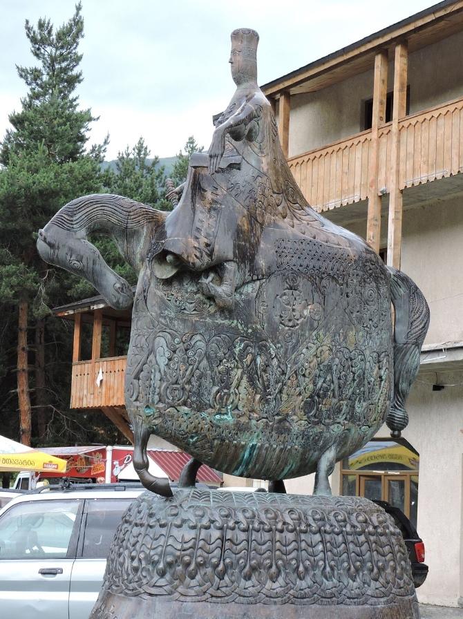 Памятник Тамаре