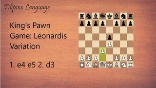 Kings Pawn Game: Leonardis Variation || #27