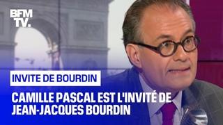 Camille Pascal face à Jean-Jacques Bourdin en direct
