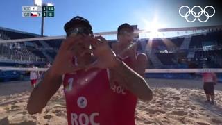 Пляжный волейбол: битва титанов за выход в плей-офф