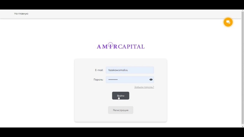 Как работать со счетами Amir Capital?