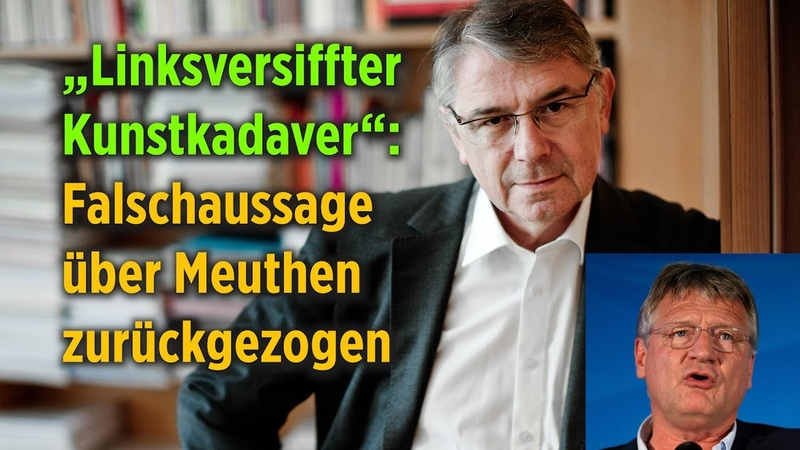 """""""Linksversiffter Kunstkadaver"""" – Falschaussage des Deutschen Bühnenvereins bringt Meuthen in Verruf"""