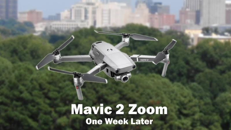 Новая безделушка! DJI Mavic 2 Zoom (Тестовый полёт)