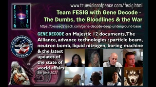 FESIG with Gene Decode on The Dumbs, the Bloodlines & the War 8 Jun '21