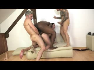 Bella Angel Vs 3 guys with gapes and Double Penetration NF022