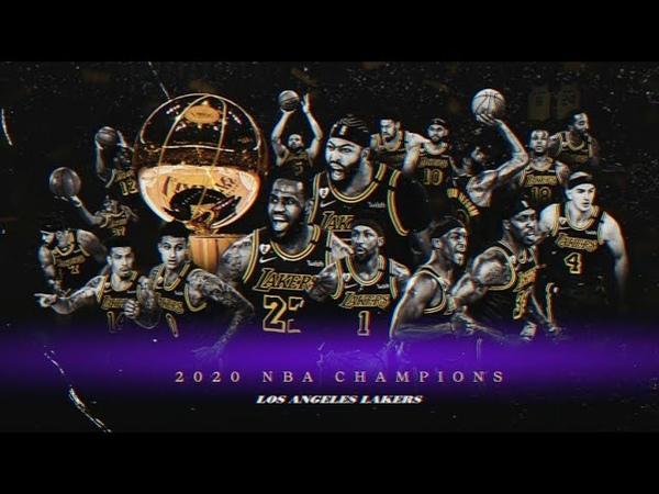 Los Angeles Lakers 2020 NBA Champs Mini Movie