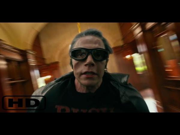 Питер Максимофф Ртуть спасает мутантов от взрыва в школе Ксавьера Люди Икс Апокалипсис 2016