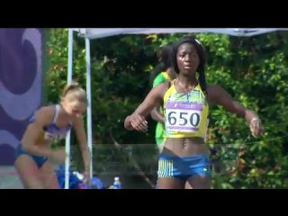 Athletics women's triple jump final singapore 2010 youth games