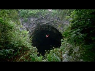 Пещера Ласточек ещё одно чудо мексики (там уместится любой небоскрёб земли)