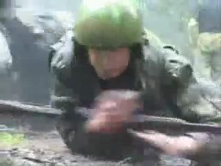 Тренировка спецназа ( Краповые береты)