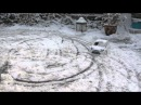 HPI Wr8 Flux and Kyosho DRX VE in the snow