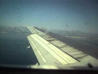 посадка в аэропорту Антальи Boeing 737-300(landing at Antalya airport)