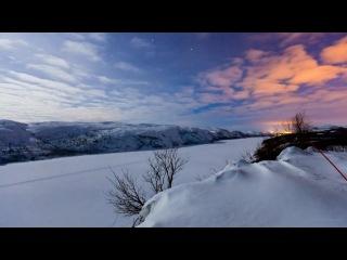 Терье соргьерд - северное сияние. природа красота горы зима снег супер клип музыка hans zimmer, lisa gerrard