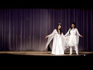 Особенный танец. Аня Тимофеева и Дмитриева Жанна.