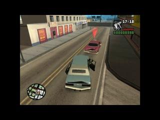 Прохождение Grant Theft Auto San Andreas (миссия 5) Забегаловка