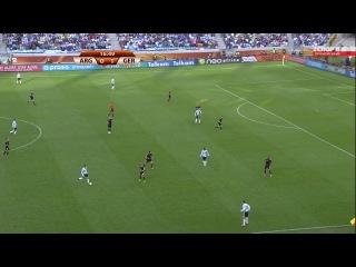 Аргентина - Германия (1 тайм) (ЧМ 2010).