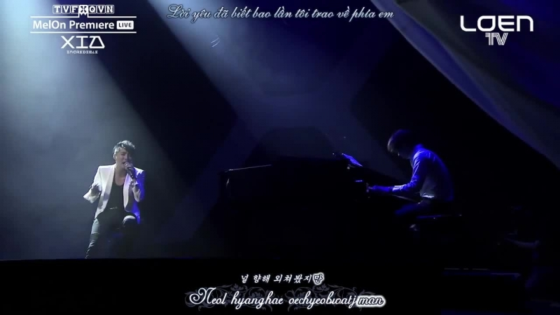 [TVfXQVN's Vietsub Karaoke] XIA Showcase INCREDIBLE