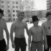 Народная самодеятельность турникменов у 78 школы..18.03.2012.