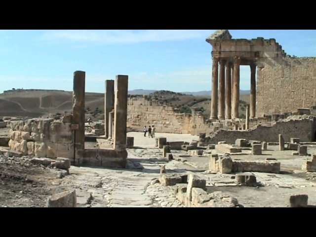 DOUGGA Antique Cité de Thugga Tunisie
